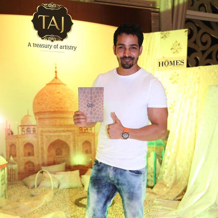 Actor Harshvardhan Rane at Taj Santacruz #TajCollection #LaunchParty #HomesFurnishings #HomeDecor #HomeFabricCollection #HarshvardhanRane #BollywoodActor