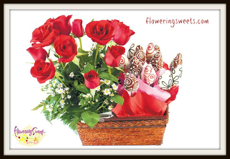 Love and Roses by Floweringsweets.com