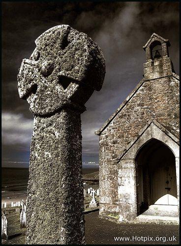 Barnoon Chapel And Graveyard, St Ives Cornwall, UK
