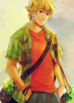Will Solace – Rick Riordan | art by viria  I can't believe this picture made my best friend cry hahaha like omg. I feel sorry for her.