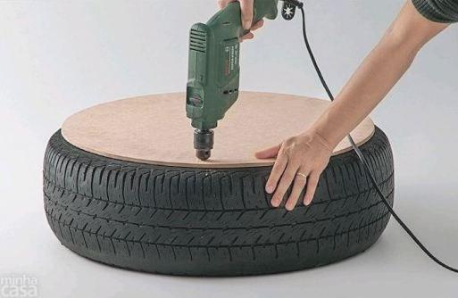 banco pneu