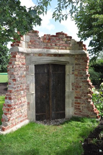 Doorway folly. A secret door to a secret world..imagine this under a full shining moon, standing at the doors!