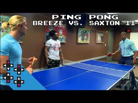 Tyler Breeze vs. Byron Saxton II: Ping Pong payback for Saxton? — Gamer Gauntlet - http://newsaxxess.com/wwe/tyler-breeze-vs-byron-saxton-ii-ping-pong-payback-saxton-gamer-gauntlet/
