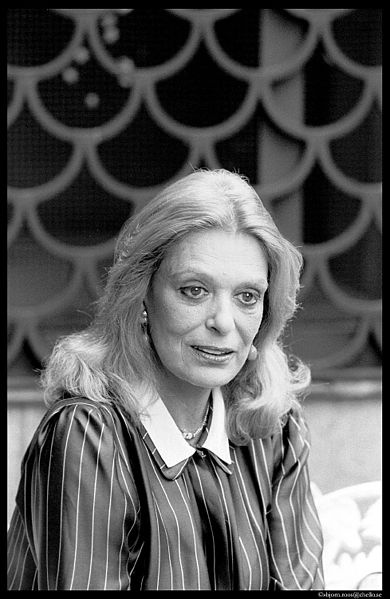 Melina Mercouri (18 October 1920 – 6 March 1994), Greek actress, singer and politician. - http://en.wikipedia.org/wiki/Melina_Mercouri