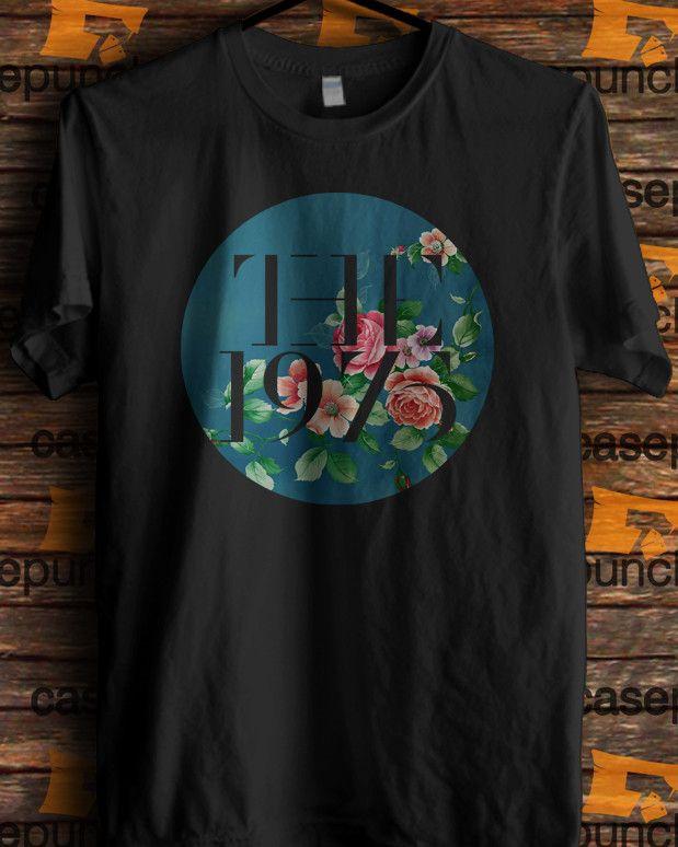 Sr8-the 1975 Indie Rock Logo (longsleeve Crop Top Tank Top & Hoodie…