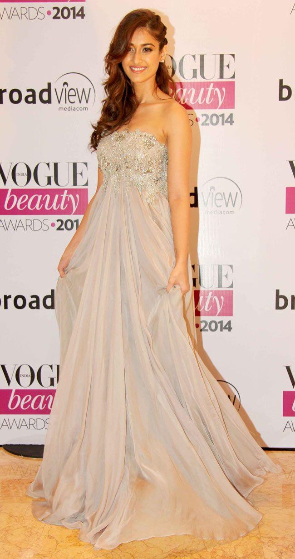 Ileana D'Cruz at Vogue Beauty Awards 2014.