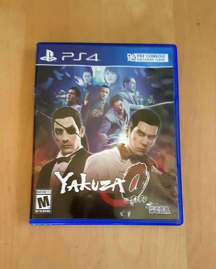 YAKUZA 0 PS4 SEGA JAPANESE gangsters GREAT SHAPE PLAYSTATION 4 US VERSION
