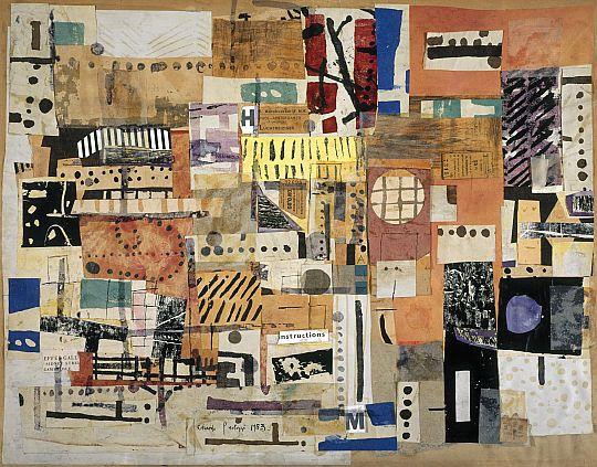 Eduardo Paolozzi ,1953, Collage