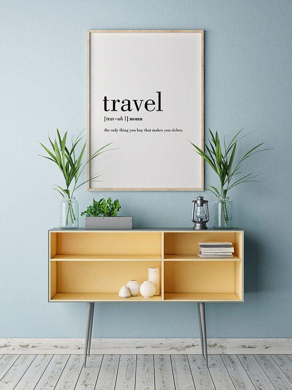 Reise-Definition druckbare Reisen Angebot Word von printabold