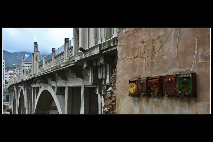 buzones en puente
