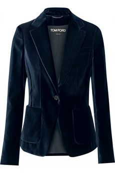 Tom Ford Velvet blazer | NET-A-PORTER                                                                                                                                                      More