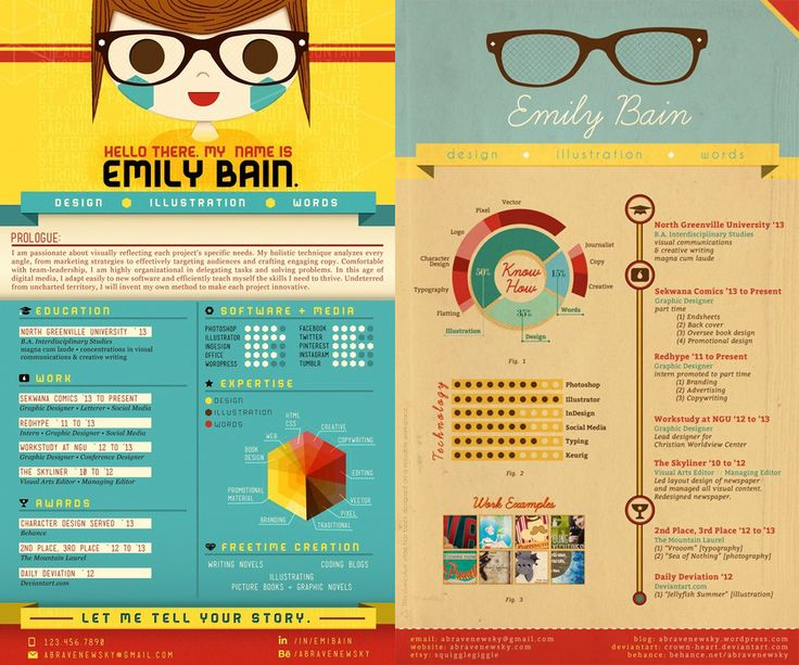 Do's and Don'ts From The 23 Most Creative Resume Designs