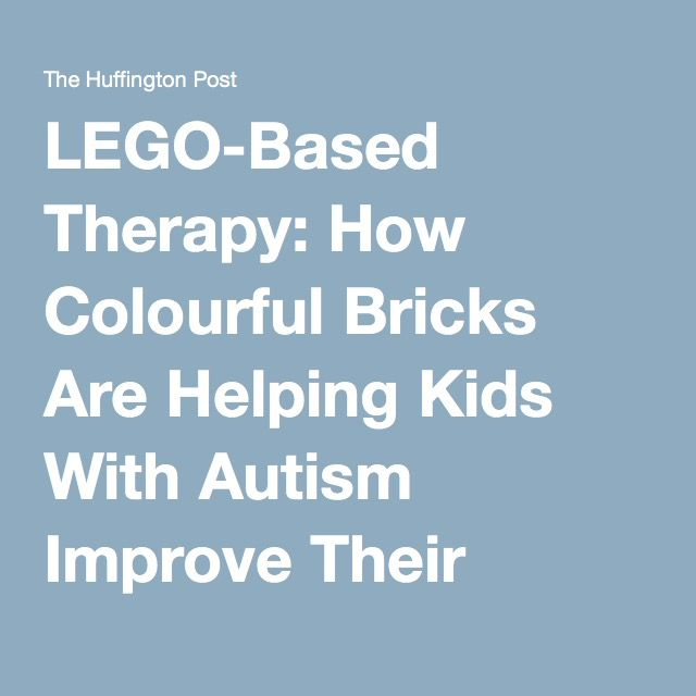LEGO-Based Therapy: How Colourful Bricks Are Helping Kids With Autism Improve Their Social Skills