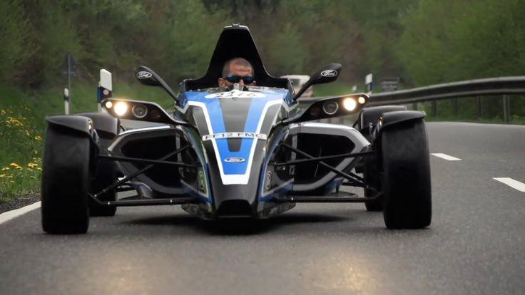 Formula Ford EcoBoost. Street Legal Racer on Road and Nürburgring - CHRIS HARRIS ON CARS