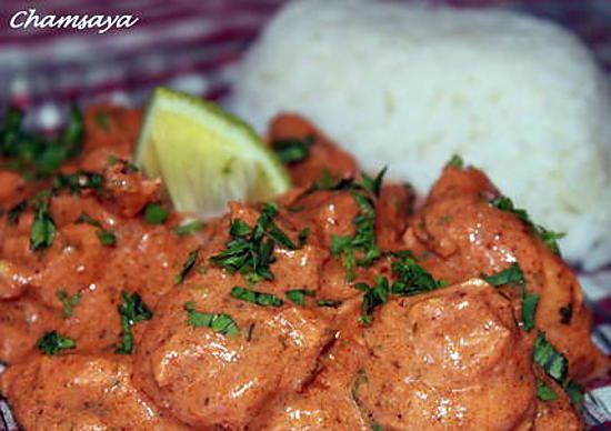 recette Poulet Tika masala