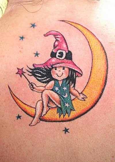 Tatuagens de Lua: Crescente, Cheia, Significado