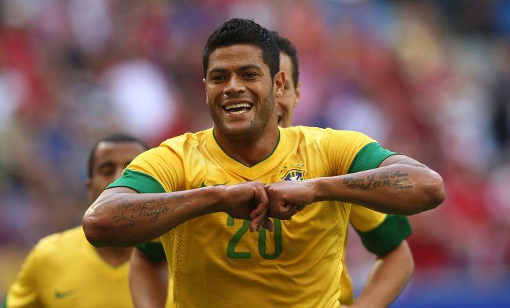 Hulk, seleção brasileira, Brasil, Brazil, futebol, soccer, comemoração, bola, jogador