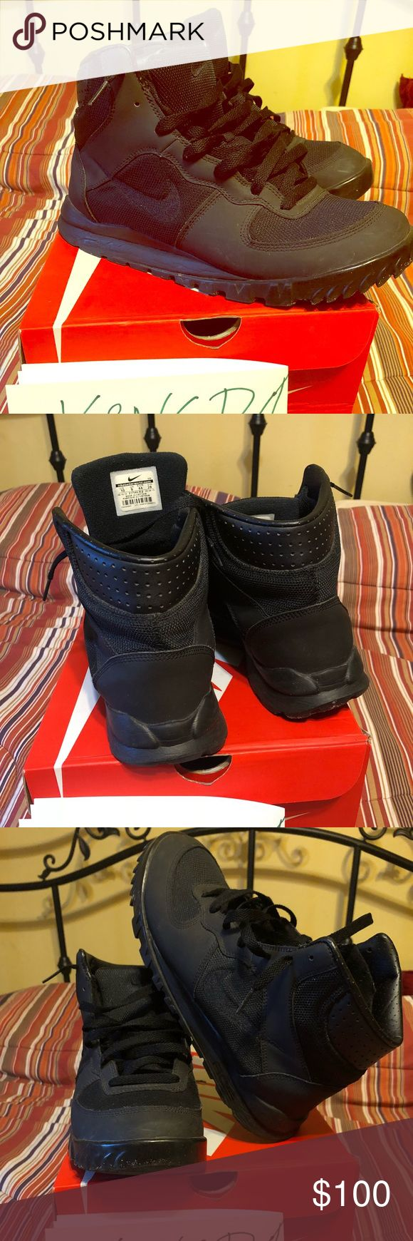 Limited Edition Nike ACG Boots Limited Edition ACGs  Sz 10  Run big  Great condition: 9/10 Nike Shoes Boots