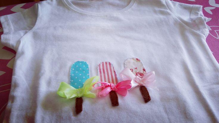aplicação em T shirts- gelados