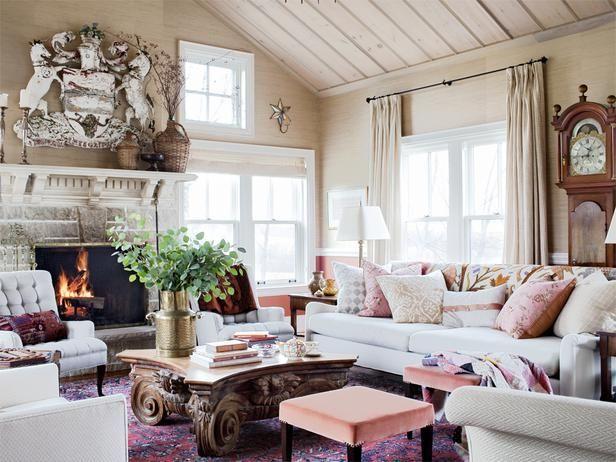 Sarah Richardson's Farmhouse - Sarah Richardson Design - Living Room