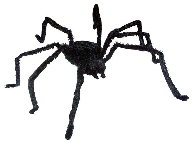 halloween decor n more lightup long hair spider gia halloweendecornmorecom
