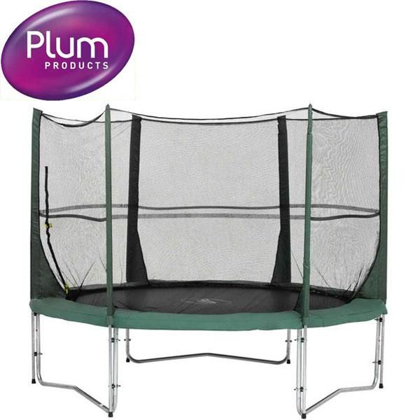Plum Space Zone 8FT Trampoline with Enclosure | Trampolines | Great Gifts at Deals Direct