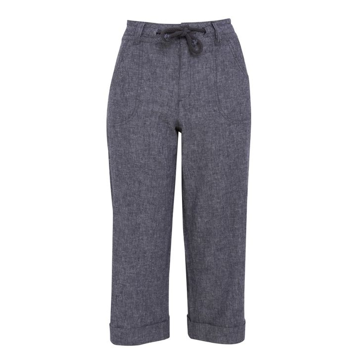 Weird Fish Alana Denim Linen 3/4 Pant Light Denim Size 12 on sale in the UK along with best deals on many other sportswear items available online..