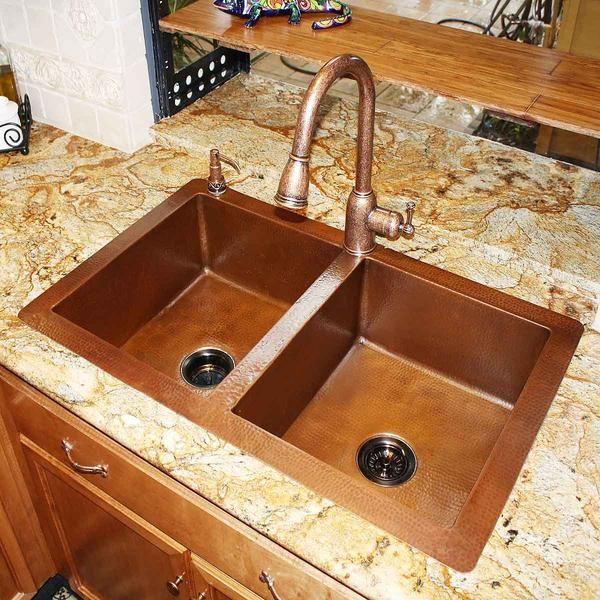 Dorp In Copper Kitchen Sink Copper Kitchen Sink Sink Copper Sink