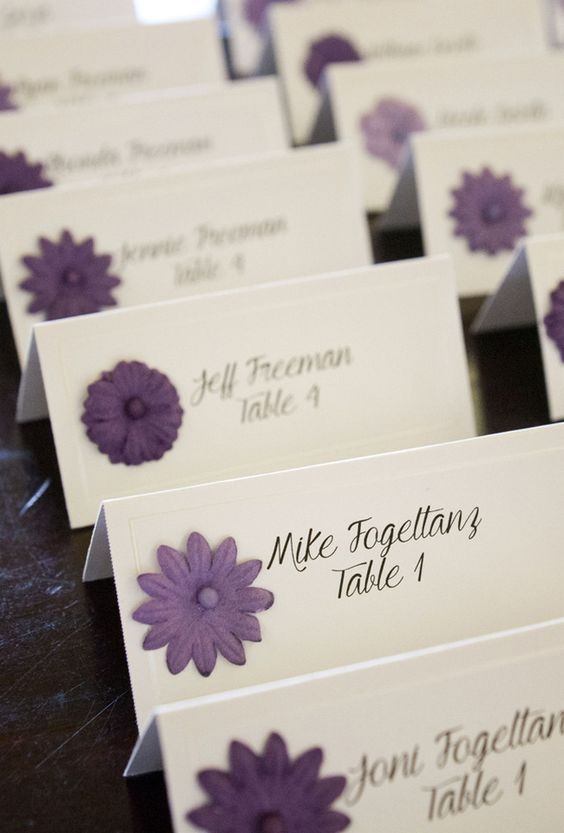 Purple and Gray Wedding Setting Cards! Purple Wedding | Purple Bridal Earrings | Purple Wedding Jewelry | Spring wedding | Spring inspo | Yellow | Silver | Spring wedding ideas | Spring wedding inspo | Spring wedding mood board | Spring wedding flowers | Spring wedding formal | Spring wedding outdoors | Inspirational | Beautiful | Decor | Makeup | Bride | Color Scheme | Tree | Flowers | Wedding Table | Decor | Inspiration | Great View | Picture Perfect | Cute | Candles | Table Centerpiece…