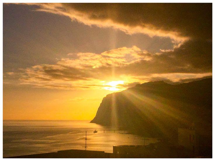 Atardecer en el cabo Girao (Madeira)