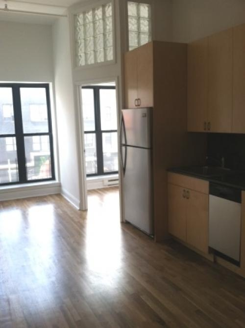 Huge flex 4 bedroom loft in the heart of union square now - The living room at the w union square ...