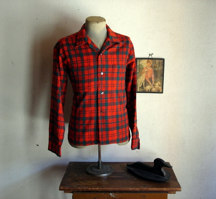 1000 images about flannel shirts on pinterest wool for Mens wool flannel shirt