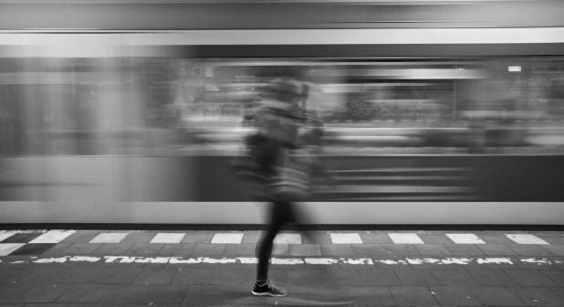 From a recent #streetphotography trip to #Hamburg, Love train stations...  Camera: #Fujifilm #Xpro1.  Lens XF18mmF2 R