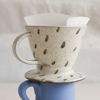 ANK Ceramics coffee pour, $42 (Made in Lincolnville, Maine) #madeinusa #madeinamerica