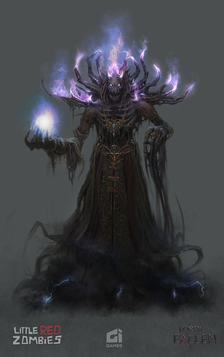 Boss Demon Priest- Lords of the Fallen, Pratik Jaiswal on ArtStation at https://www.artstation.com/artwork/boss-demon-priest-lords-of-the-fallen