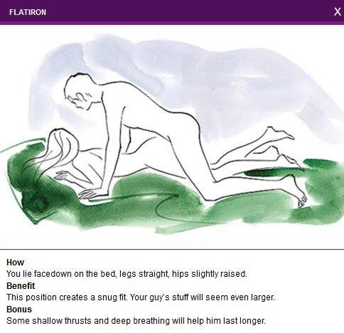 Men's Favourite Sexual Positions 2