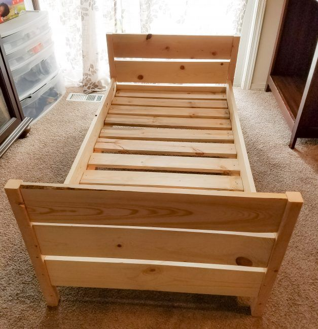 Afternoon Project Make A Toddler Bed For Under 50 Diy Kids Bed