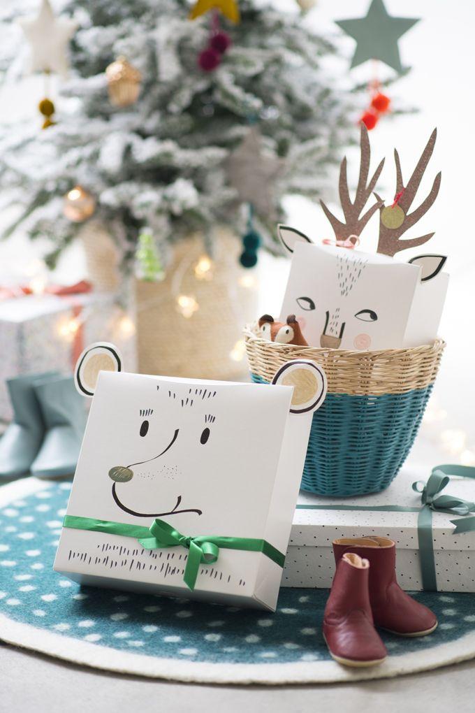 DIY Noël - Des boîtes pour les cadeaux des enfants - Marie Claire Idées