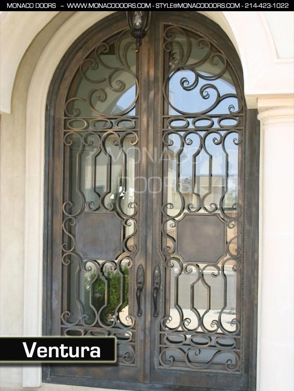front doors austin24 best  images on Pinterest  Wrought iron doors Entry