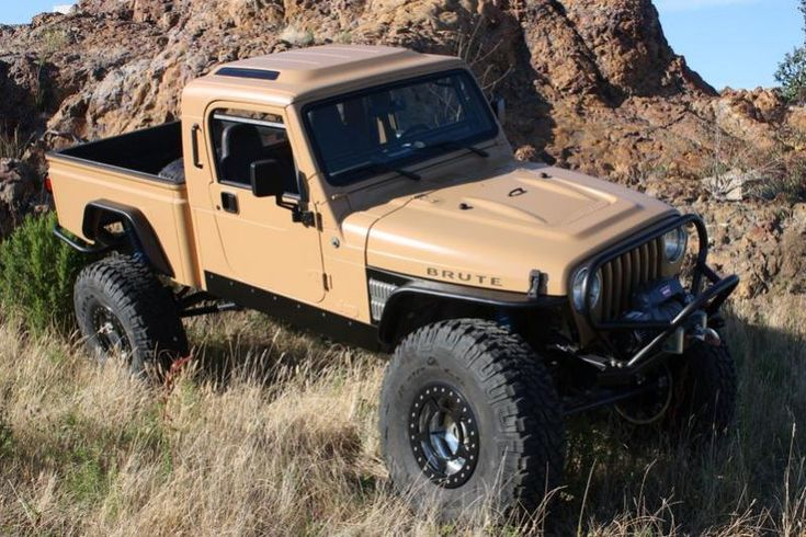 jeep wrangler pickup conversion | 2001 Jeep Wrangler - AEV brute pickup conversion on 40's - Pirate4x4 ...