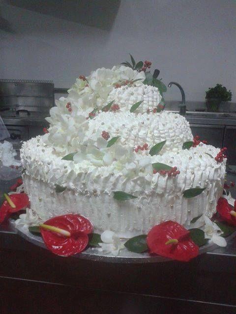 wedding cake di natale
