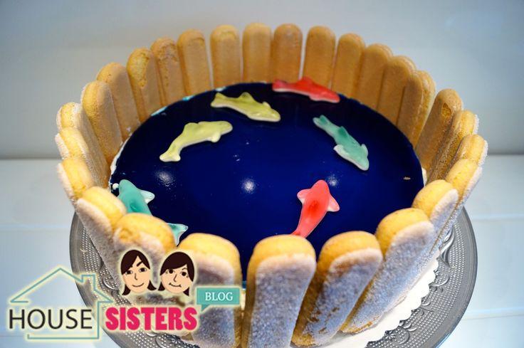 HouseSister Blog Rezept: Die Schwimmbadtorte! Perfekte Torte für den Kindergeburtstag! :)