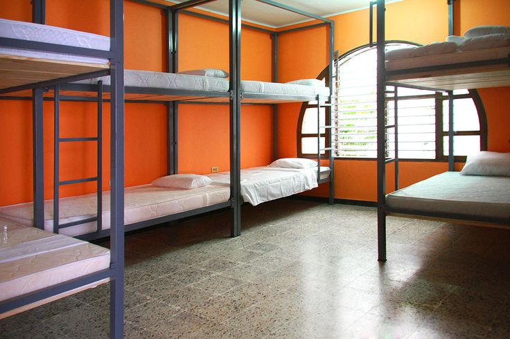 8 Mixed Bed Dorm with private bathroom, lockers and fans!