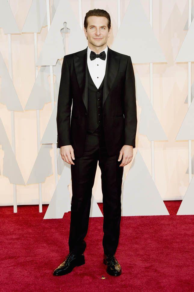 BRADLEY COOPER en Ferragamo | Oscars 2015