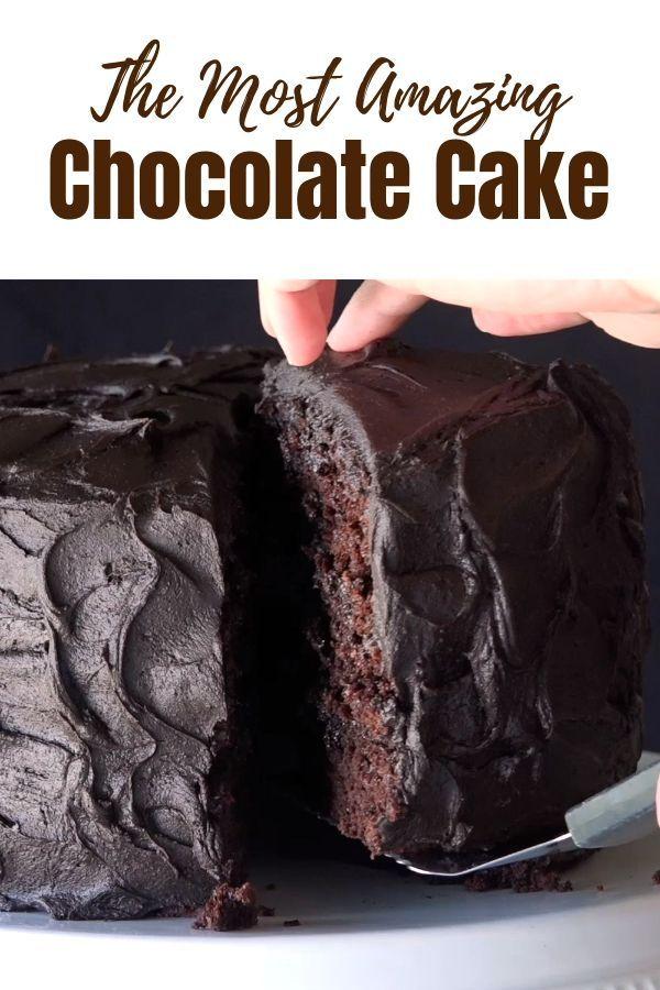 Der erstaunlichste Schokoladenkuchen
