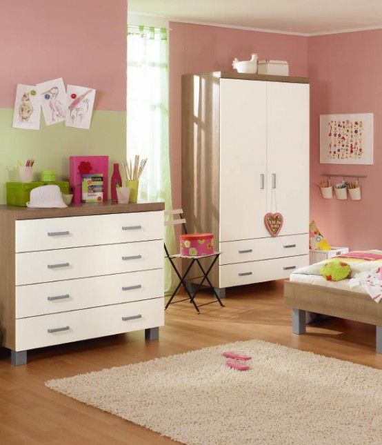 Simple  Nice Baby Nursery Furniture Sets and Design Ideas for Girls and Boys by Paidi