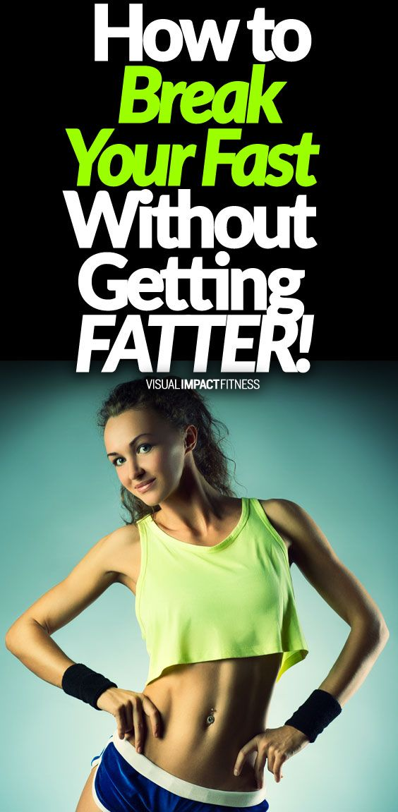 How To Break Your Fast - Without Getting FATTER   Core power