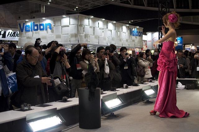 Nikon booth at CP+ expo.