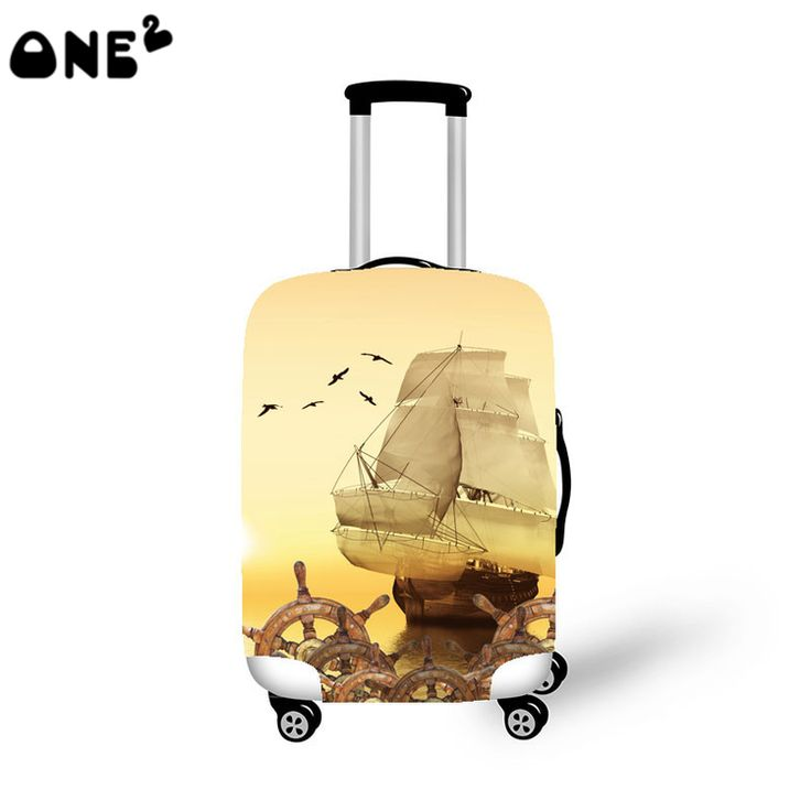 2016ONE2 travel luggages cover polyester material luggage cover fashion pattern popular children luggage cover spandex