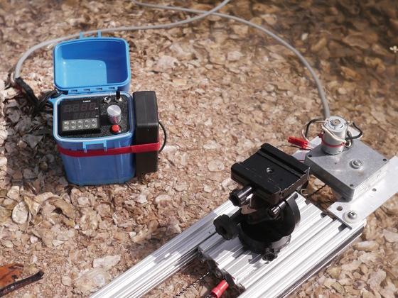 Salamander Slider™ Video Slider optional Time Lapse control by Scot Perry, via Kickstarter.